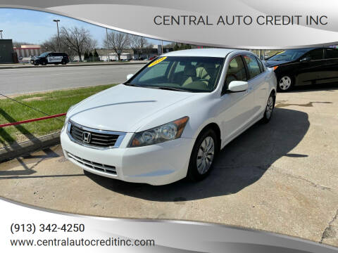 2010 Honda Accord for sale at Central Auto Credit Inc in Kansas City KS