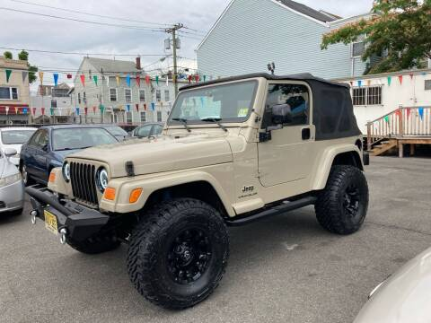 2003 Jeep Wrangler for sale at 21st Ave Auto Sale in Paterson NJ