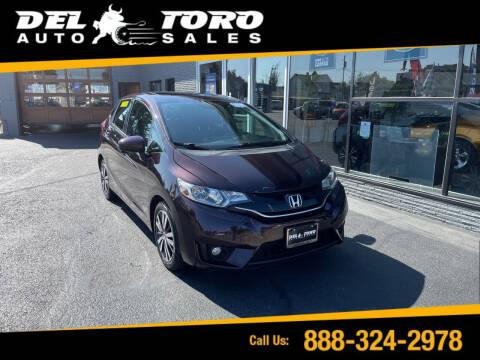 2015 Honda Fit for sale at DEL TORO AUTO SALES in Auburn WA
