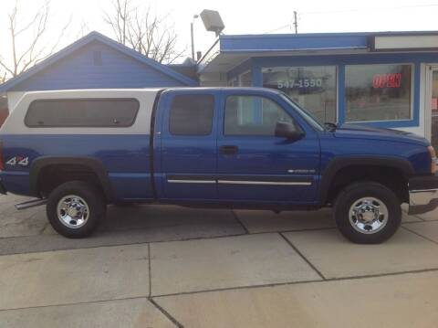 2004 Chevrolet Silverado 2500HD for sale at Sindic Motors in Waukesha WI