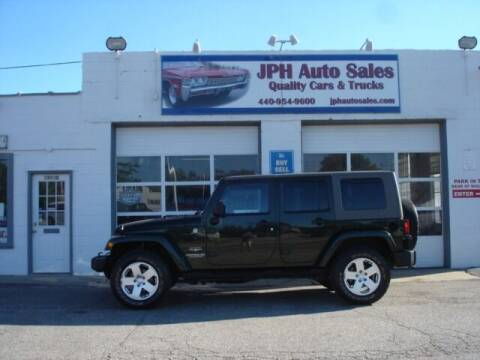 2010 Jeep Wrangler Unlimited for sale at JPH Auto Sales in Eastlake OH