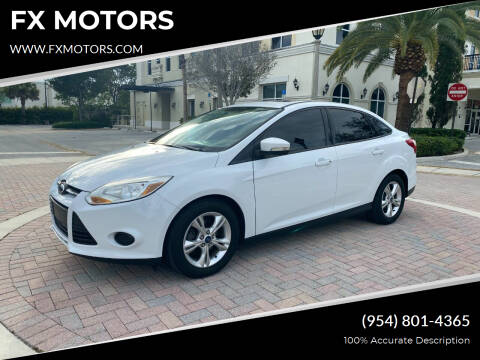 2013 Ford Focus for sale at FX MOTORS in Margate FL