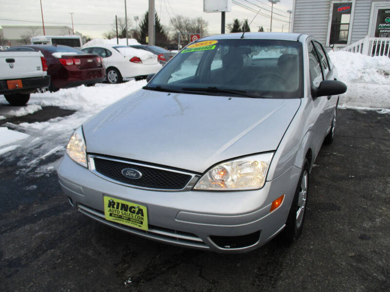 2005 Ford Focus for sale at Ringa Auto Sales in Arlington Heights IL