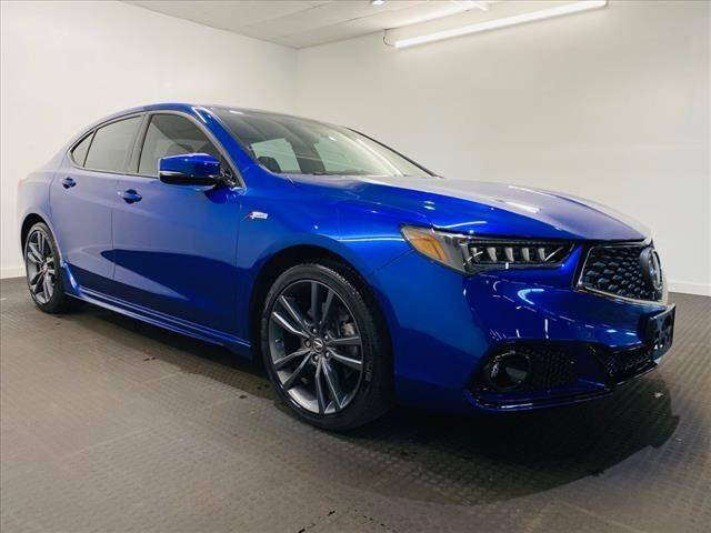2018 Acura TLX for sale at Champagne Motor Car Company in Willimantic CT