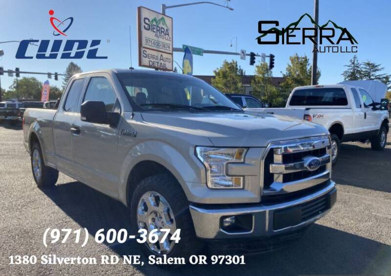 2017 Ford F-150 for sale at SIERRA AUTO LLC in Salem OR