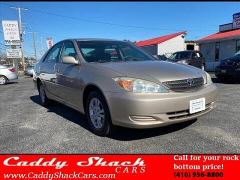 2004 Toyota Camry for sale at CADDY SHACK CARS in Edgewater MD
