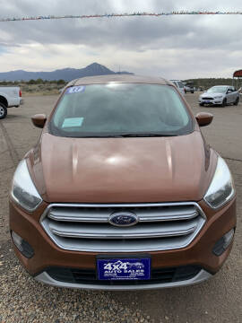 2017 Ford Escape for sale at 4X4 Auto in Cortez CO