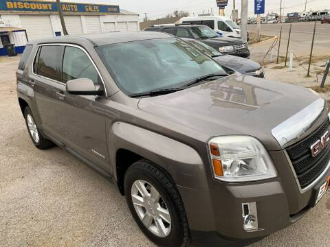 2011 GMC Terrain for sale at WF AUTOMALL in Wichita Falls TX