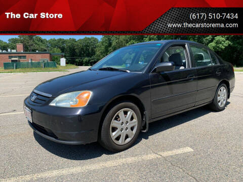 2003 Honda Civic for sale at The Car Store in Milford MA
