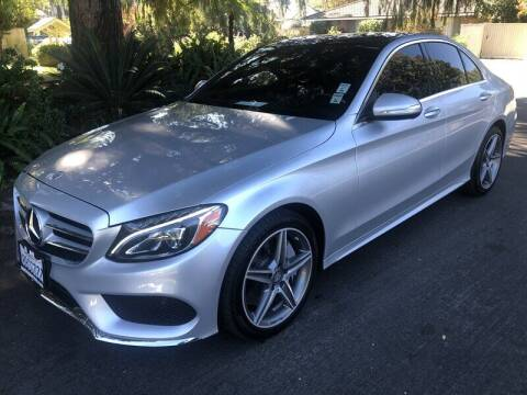 2015 Mercedes-Benz C-Class for sale at Boktor Motors in North Hollywood CA