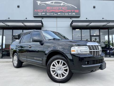 2012 Lincoln Navigator for sale at Exotic Motorsports of Oklahoma in Edmond OK