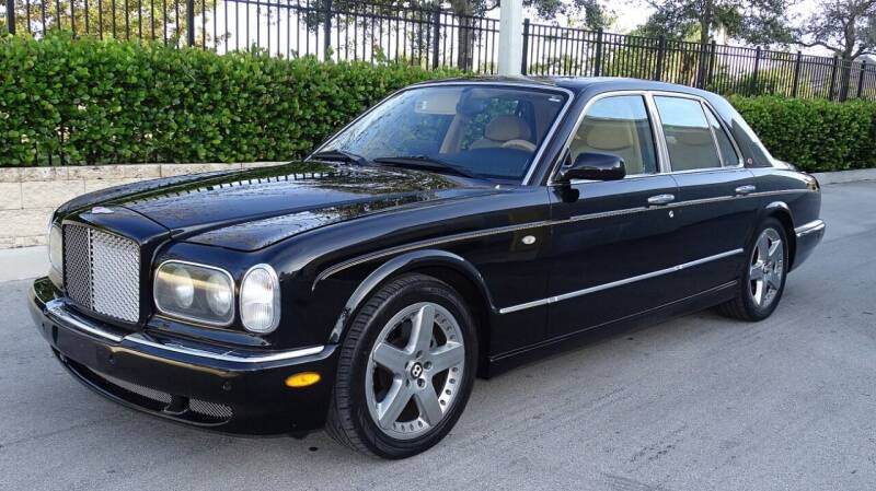 2002 Bentley Arnage for sale at Premier Luxury Cars in Oakland Park FL