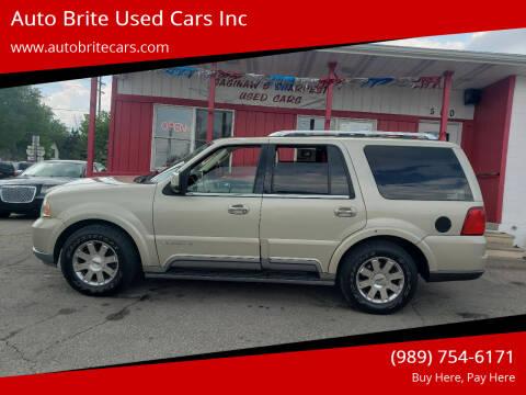 2004 Lincoln Navigator for sale at Auto Brite Used Cars Inc in Saginaw MI
