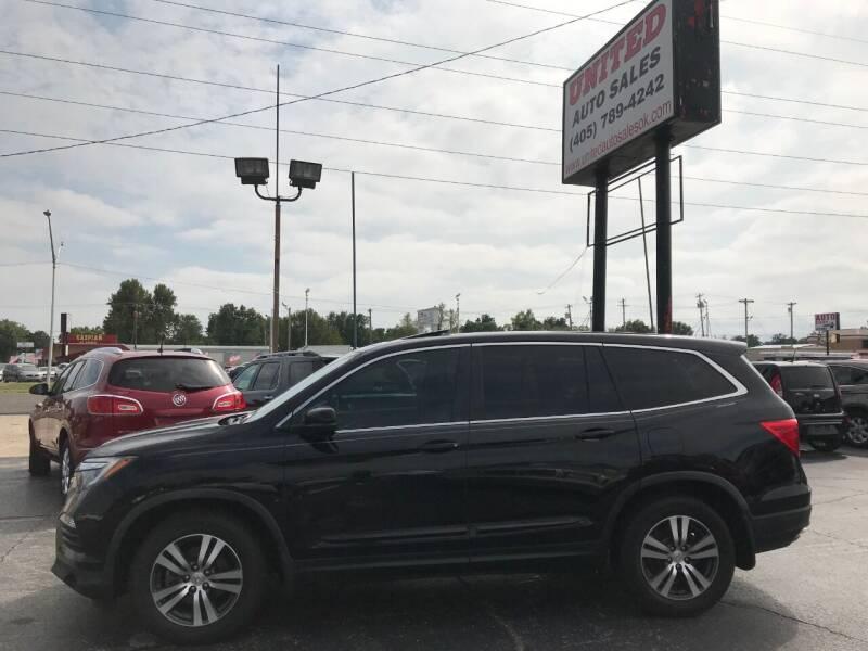 2016 Honda Pilot for sale at United Auto Sales in Oklahoma City OK