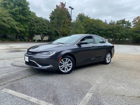 2015 Chrysler 200 for sale at Uniworld Auto Sales LLC. in Greensboro NC