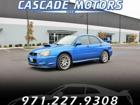 2004 Subaru Impreza for sale at Cascade Motors in Portland OR