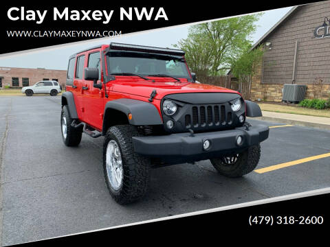 2015 Jeep Wrangler Unlimited for sale at Clay Maxey NWA in Springdale AR