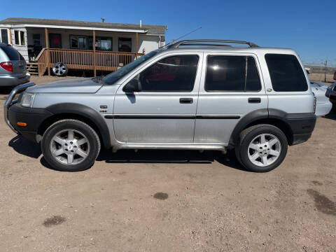 2003 Land Rover Freelander for sale at PYRAMID MOTORS - Fountain Lot in Fountain CO