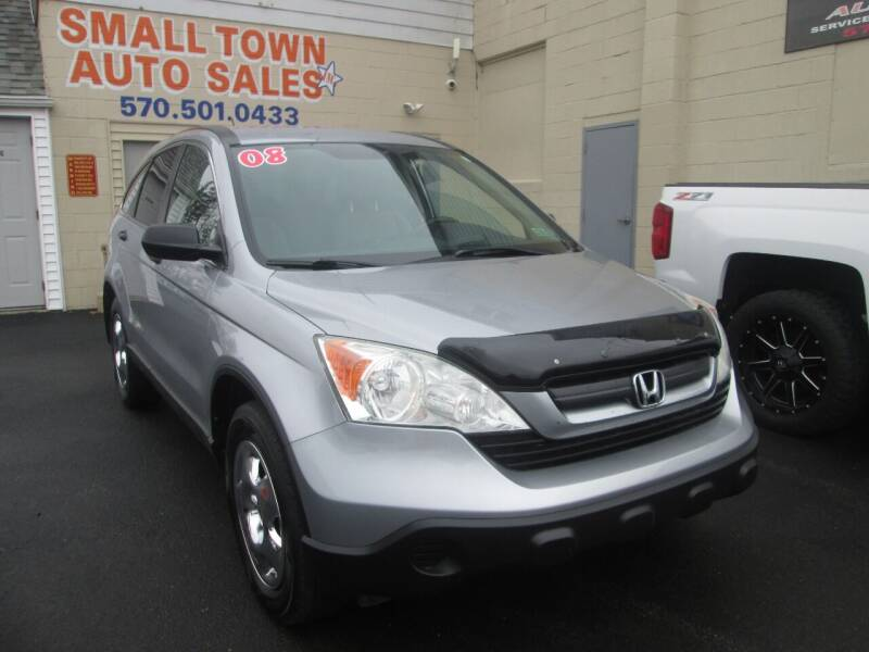 2008 Honda CR-V for sale at Small Town Auto Sales in Hazleton PA