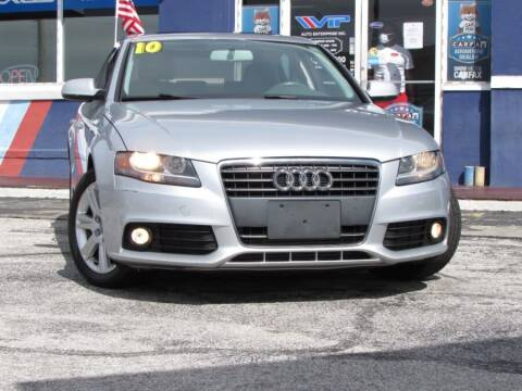 2010 Audi A4 for sale at VIP AUTO ENTERPRISE INC. in Orlando FL