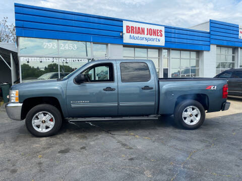 2012 Chevrolet Silverado 1500 for sale at Brian Jones Motorsports Inc in Danville VA