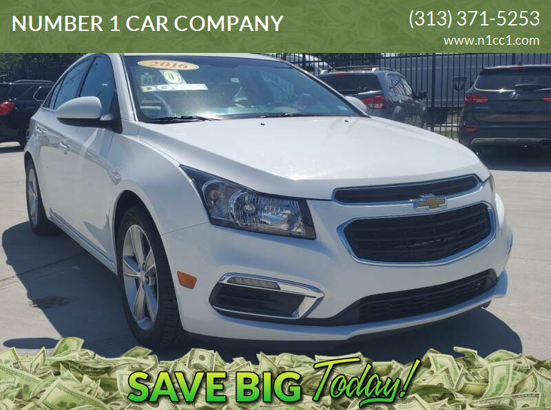 2016 Chevrolet Cruze Limited for sale at NUMBER 1 CAR COMPANY in Detroit MI