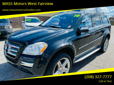 2010 Mercedes-Benz GL-Class for sale at MASS Motors West Fairview in Boise ID