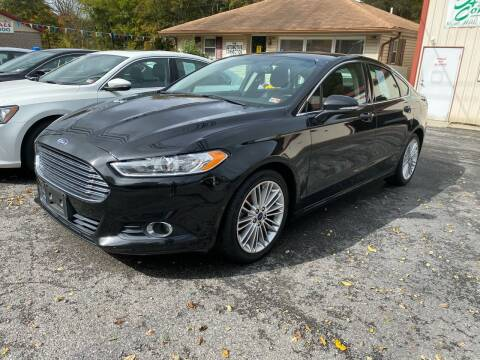 2015 Ford Fusion for sale at THE AUTOMOTIVE CONNECTION in Atkins VA