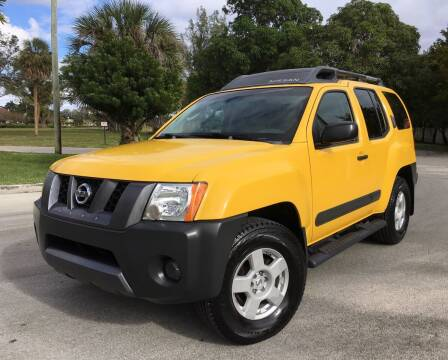 2006 Nissan Xterra for sale at FIRST FLORIDA MOTOR SPORTS in Pompano Beach FL