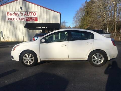 2007 Nissan Sentra for sale at Buddy's Auto Inc in Pendleton SC