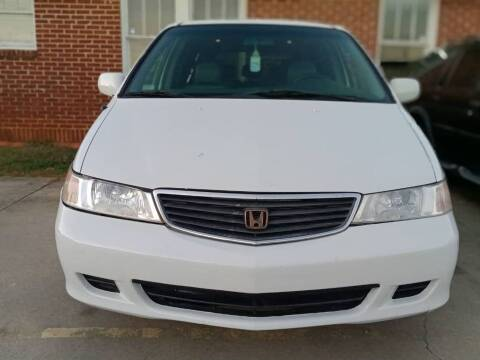 2001 Honda Odyssey for sale at Shoals Dealer LLC in Florence AL