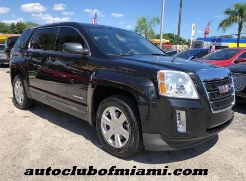 2014 GMC Terrain for sale at AUTO CLUB OF MIAMI, INC in Miami FL