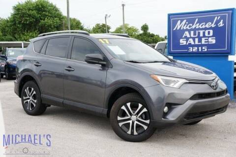 2017 Toyota RAV4 for sale at Michael's Auto Sales Corp in Hollywood FL