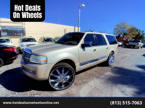 2007 Lincoln Navigator L for sale at Hot Deals On Wheels in Tampa FL