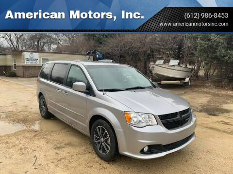 2017 Dodge Grand Caravan for sale at American Motors, Inc. in Farmington MN