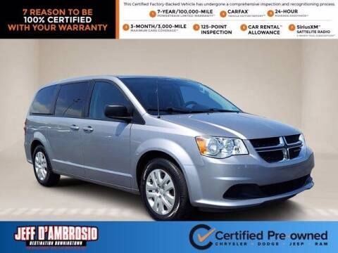 2018 Dodge Grand Caravan for sale at Jeff D'Ambrosio Auto Group in Downingtown PA