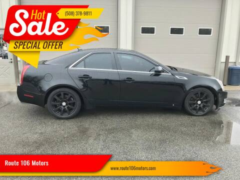 2008 Cadillac CTS for sale at Route 106 Motors in East Bridgewater MA