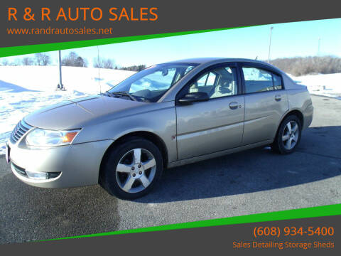 2007 Saturn Ion for sale at R & R AUTO SALES in Juda WI