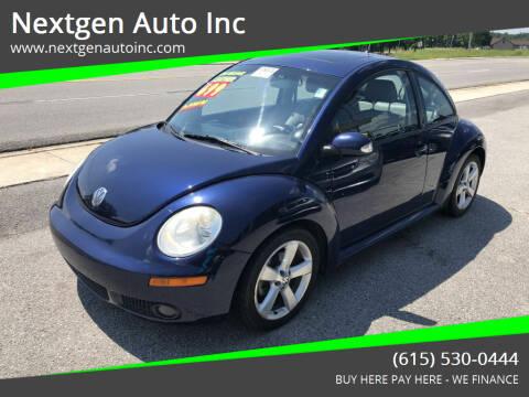 2006 Volkswagen New Beetle for sale at Nextgen Auto Inc in Smithville TN