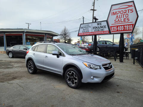 2013 Subaru XV Crosstrek for sale at Imports Auto Sales & Service in San Leandro CA