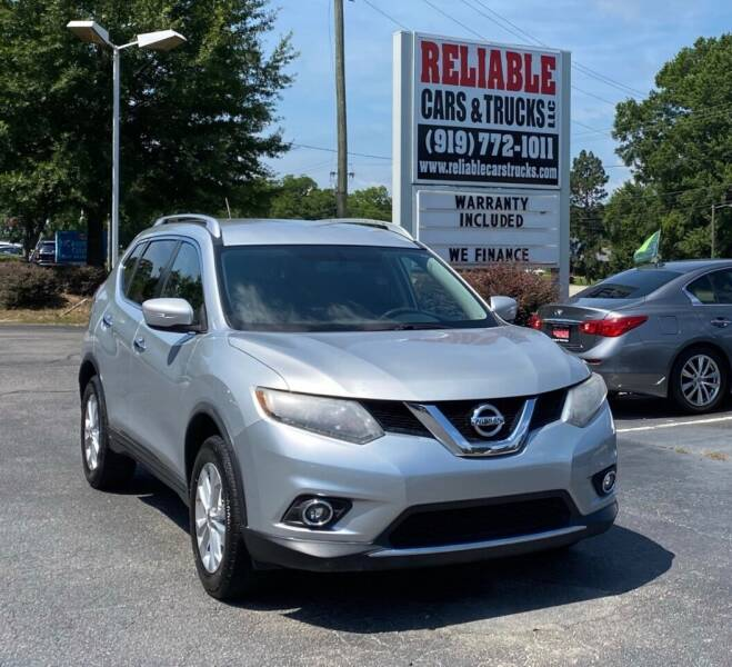 2015 Nissan Rogue for sale at Reliable Cars & Trucks LLC in Raleigh NC