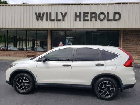 2016 Honda CR-V for sale at Willy Herold Automotive in Columbus GA