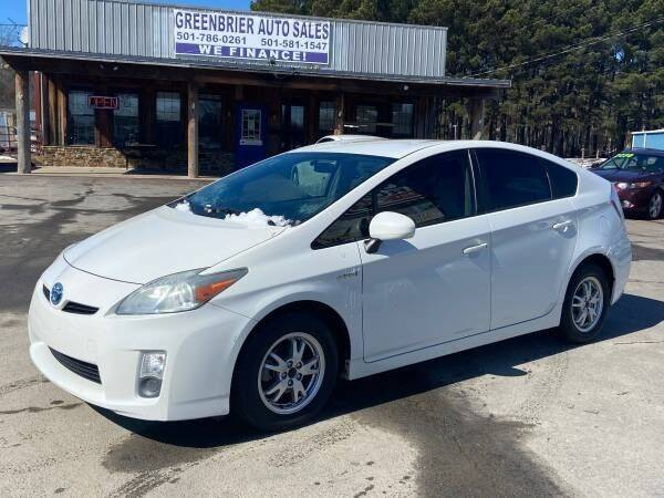 2010 Toyota Prius for sale at Greenbrier Auto Sales in Greenbrier AR