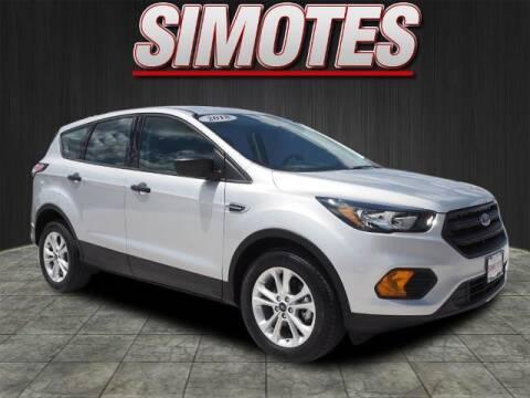 2018 Ford Escape for sale at SIMOTES MOTORS in Minooka IL