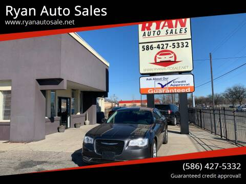 2016 Chrysler 300 for sale at Ryan Auto Sales in Warren MI