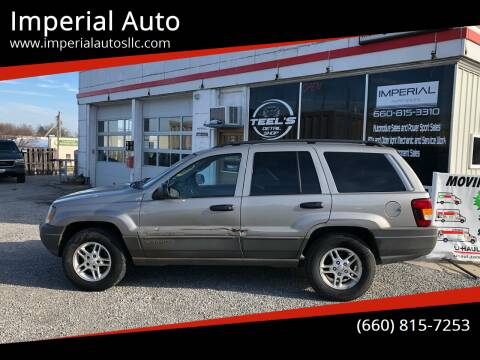 2002 Jeep Grand Cherokee for sale at Imperial Auto, LLC in Marshall MO