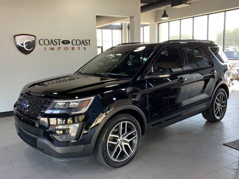 2016 Ford Explorer for sale at Coast to Coast Imports in Fishers IN