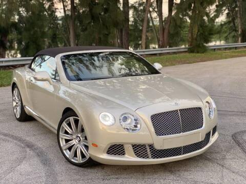 2012 Bentley Continental for sale at Exclusive Impex Inc in Davie FL