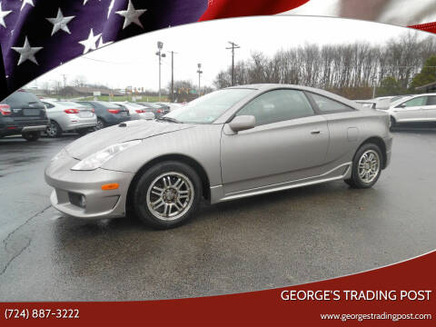 2005 Toyota Celica for sale at GEORGE'S TRADING POST in Scottdale PA
