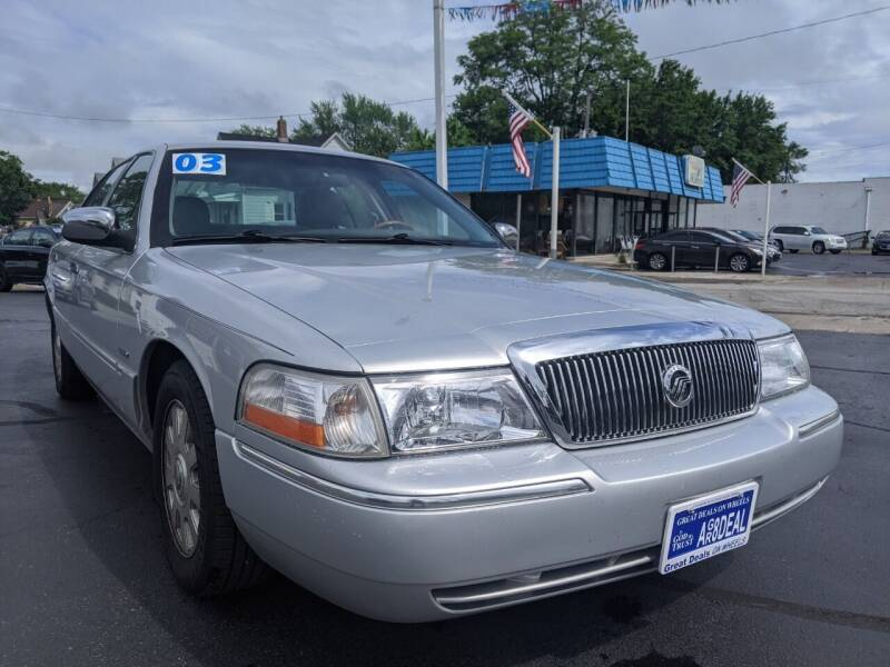 2003 Mercury Grand Marquis for sale at GREAT DEALS ON WHEELS in Michigan City IN